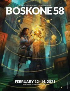 Boskone 58 Souvenir Book Cover Image